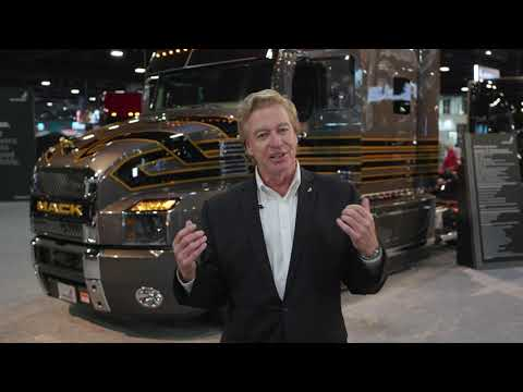 Mack Trucks at North American Commercial Truck Show (NACV)