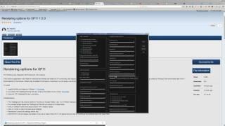 X-plane 11 | options for Rendering XP11 | Розширені налаштування для X-plane 11