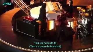 Have A Little Faith In Me - Bon Jovi feat Lea Michele - (Subtítulos En Español)