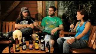 RED FANG Interview on Therapy TV @ Greenville Festival
