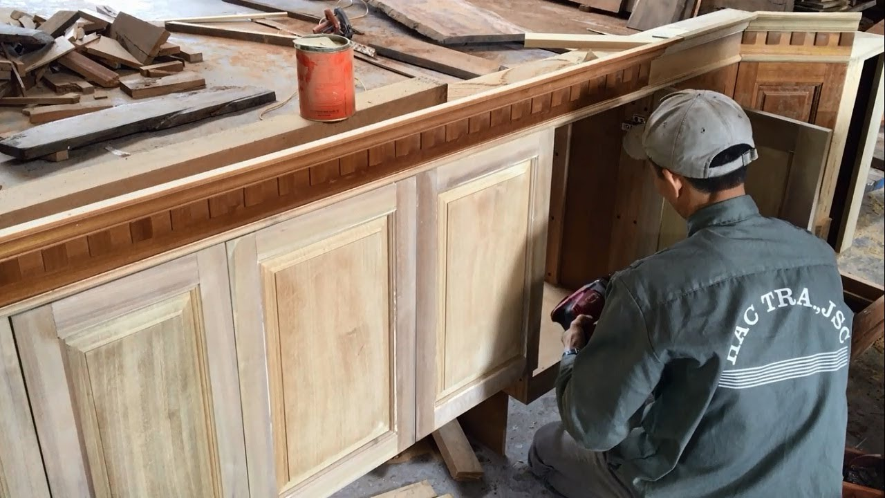 repair kitchen cabinets macys aid mixer amazing woodworking skills extremely smart project and upgrade