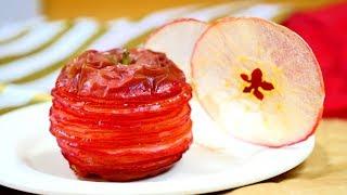 Apple Crisp Mille-feuille 紅玉りんごチップスミルフィーユ
