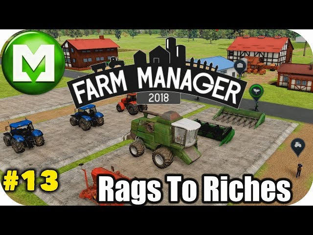 ▶Farm Manager 2018◀ Rags to Riches - Grass Cutting - EP13