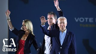 Biden calls Larry Elder a 'clone of Donald Trump'