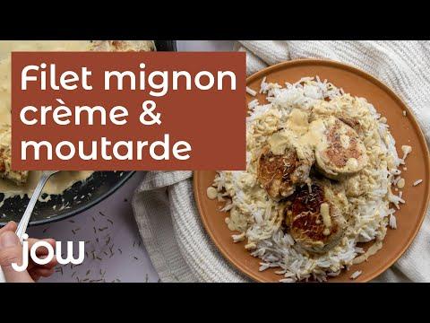 recette-du-filet-mignon-crème-&-moutarde