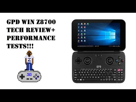 GPD Win | Tech Review + Performance Tests | Very Impressive!