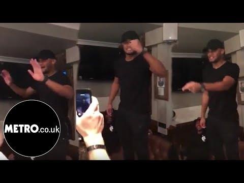 Vincent Kompany celebrates City's title win at bar in Hale | Metro.co.uk