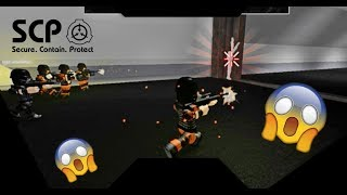 SCP 096 WHERE YOU RUNNING BOY!! | ROBLOX Minitoon's SCP Containment Breach