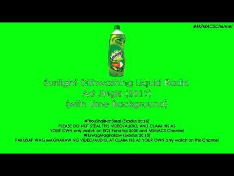 Sunlight Dishwashing Liquid Radio Ad Jingle (2017)