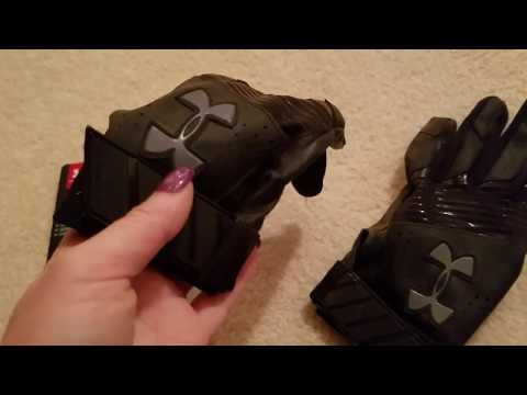 ✅  How To Use Under Armour UA Clean Up Batting Gloves Review 🔴
