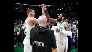 Kyrie Irving and Jayson Tatum Took Over the 4th Quarter In Game 2 vs. Pacers