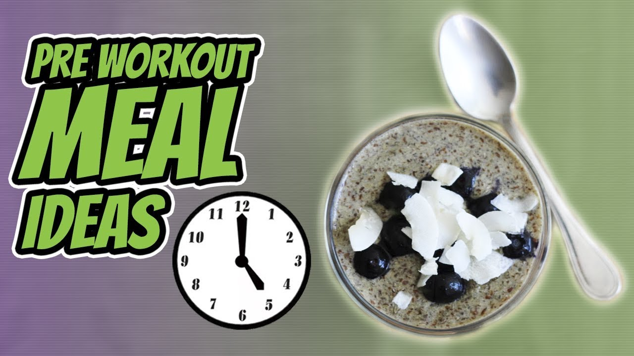 7 EARLY MORNING PRE WORKOUT MEAL IDEAS [MADE IN MINUTES] | LiveLeanTV
