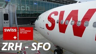 Full Flight Report | SWISS Airbus A340-300 Economy | Zürich - SFO