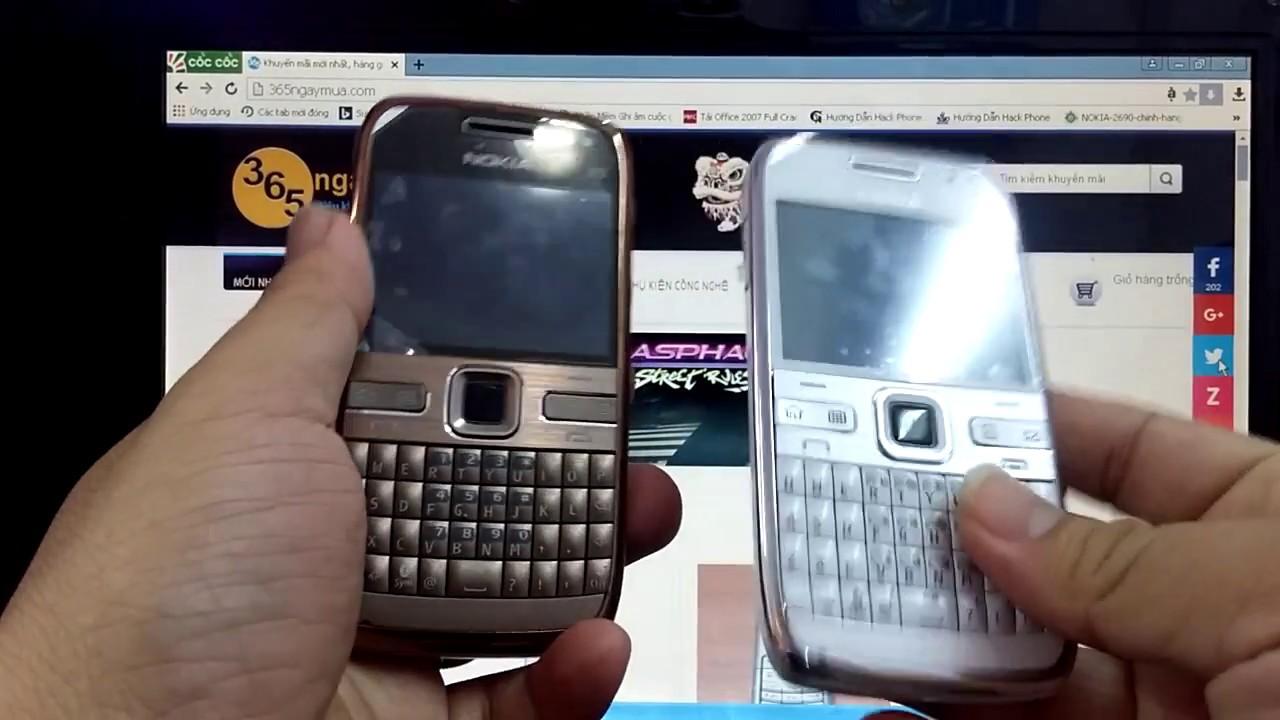 Điện thoại cổ Nokia E72 gold chính hãng tồn kho chỉ có tại http://365ngaymua .com