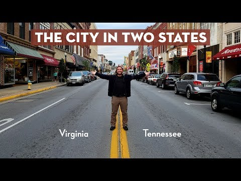 Bristol TN/VA: The City In Two States