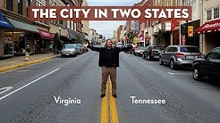 Bristol TN/VA: The City In Two States