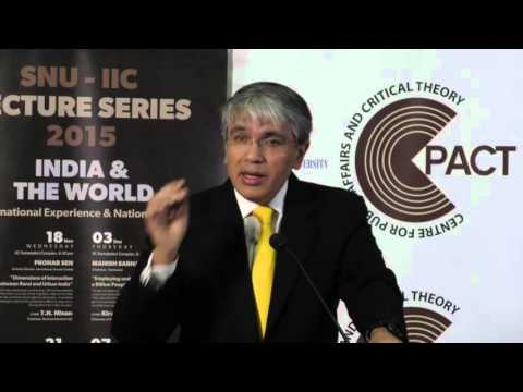 SNU-IIC Lecture Series 2015: Employing and Skilling a Billion People