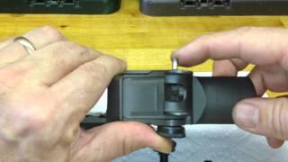 m1 garand lock bar sight installation