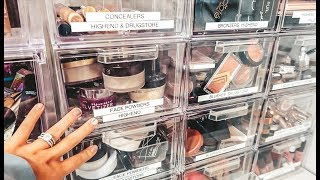 FACE POWDER / BRONZER DECLUTTER! SO MUCH MAKEUP! LOVED, HATED, & FORGOTTEN | Casey Holmes