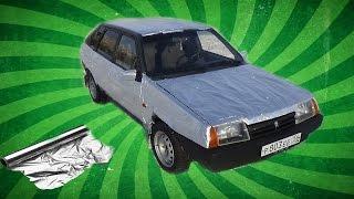 Что Будет Если Обернуть Машину В Фольгу?!Ваз 2109