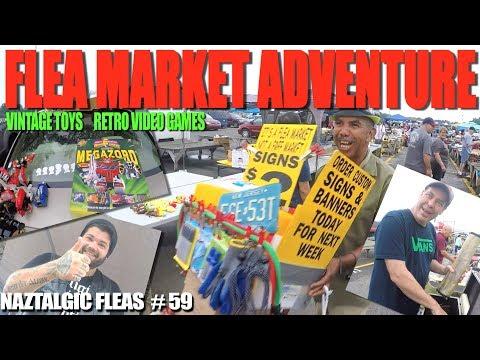 Flea Market Adventure #59 (Retro Video Games, Vintage Toys) Power Rangers Haul & Announcement