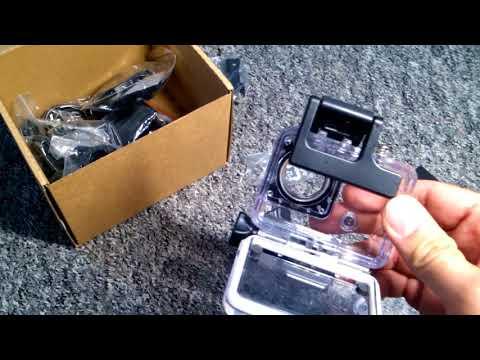 AUKEY AC LC 2 Action Cam 4K Ultra HD, WiFi Unterwasserkamera  FHD 60 FPS 720p 120 FPS