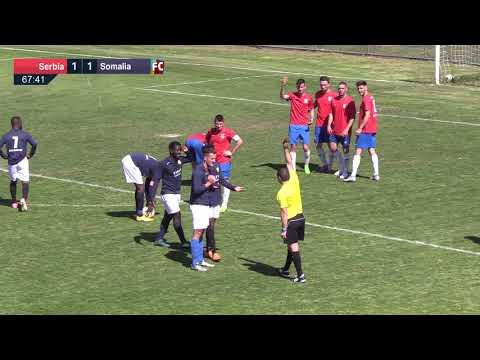 2018 ANC Cup Semi - Serbia v Somalia