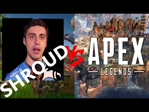 SHROUD Vs APEX LEGENDS -