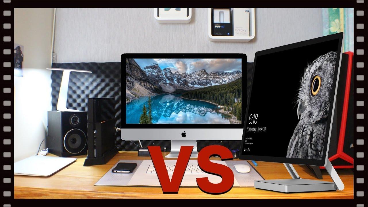 Surface studio vs imac new - Imac Vs Surface Studio Techcheck