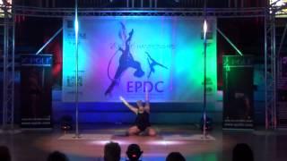Lauren Brown - SECOND Intermediate Pole - Emma's Pole Dancing Championship 2014
