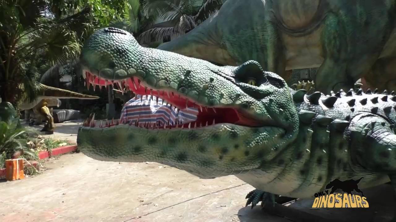 45f6c7d14b19e Full Size Sarcosuchus Model - YouTube