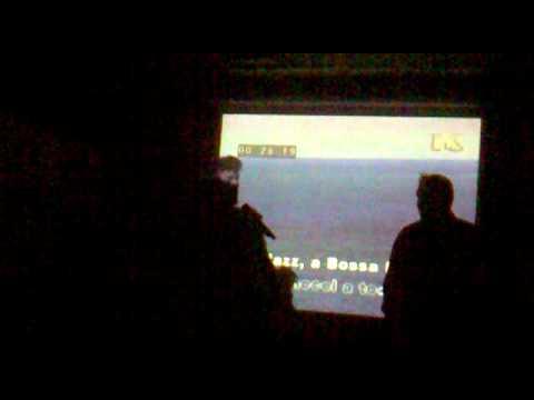 Radzinsky at karaoke