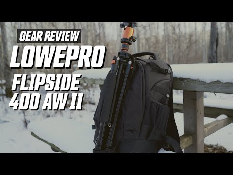 Gear Review | What's In My Backpack? (Lowepro Flipside 400 AW II)
