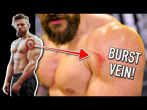 This Workout BURST MY VEINS!!   ACTION MOVIE Workout Challenge & FIGHT Update! (Lex Fitness) thumbnail