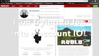 Roblox accounts and passwords