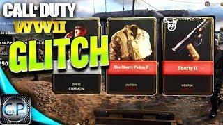 "CoD WW2: SUPPLY DROP GLITCH ""WORKS AFTER PATCH""! Call of Duty WW2"