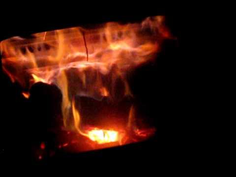 Englander 30 Wood Stove Secondary Burn Youtube