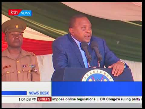 President Uhuru: Carry your own cross after stealing public funds