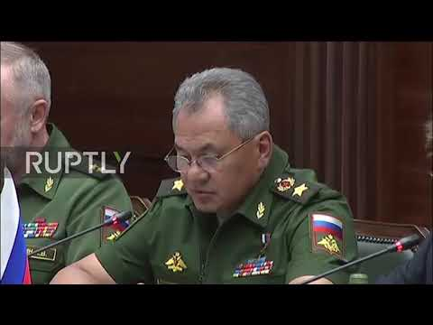 Russia: Defence Minister Shoigu meets Libyan National Army Commander Haftar