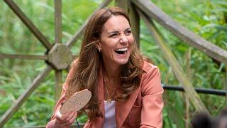 video: Duchess of Cambridge offers schoolchildren a taste of her own royal honey