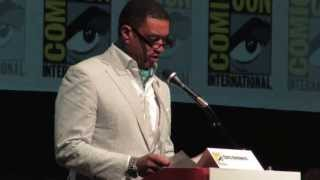 Zack Snyder, Harry Lennix Comic-Con SUPERMAN ANNOUNCEMENT