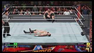 WWE 19 February 2020 - Brock Lesnar Shocking Defeat At The Hands Of John Cena