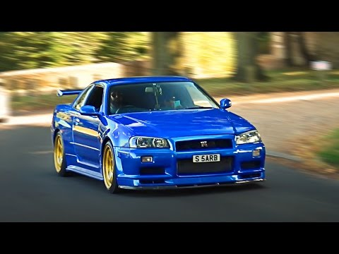 BEST-OF Nissan Skyline R34 sounds compilation 2016!