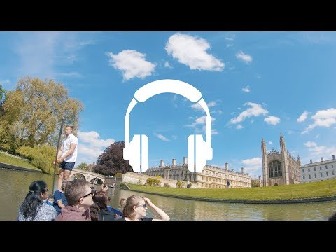 Cambridge: Punting Tour [Binaural Audio]