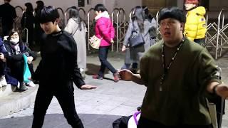 JHKTV]홍대댄스디오비 hong dae k-pop dance DOB fire 불타오르네