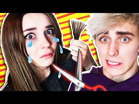 I CUT MY GIRLFRIEND'S HAIR OFF !