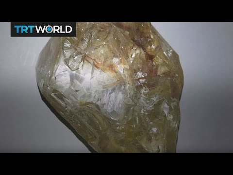Money Talks: Sierra Leone pastor discovers one of the largest diamonds