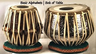 Tabla Basic Lessons for Beginners - Bols and Alphabets - How to Play Tabla - Learn Tabla