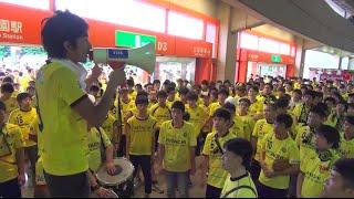 2016年7月9日、浦和レッズ戦の試合前に実施した決起集会です。 小林祐介...