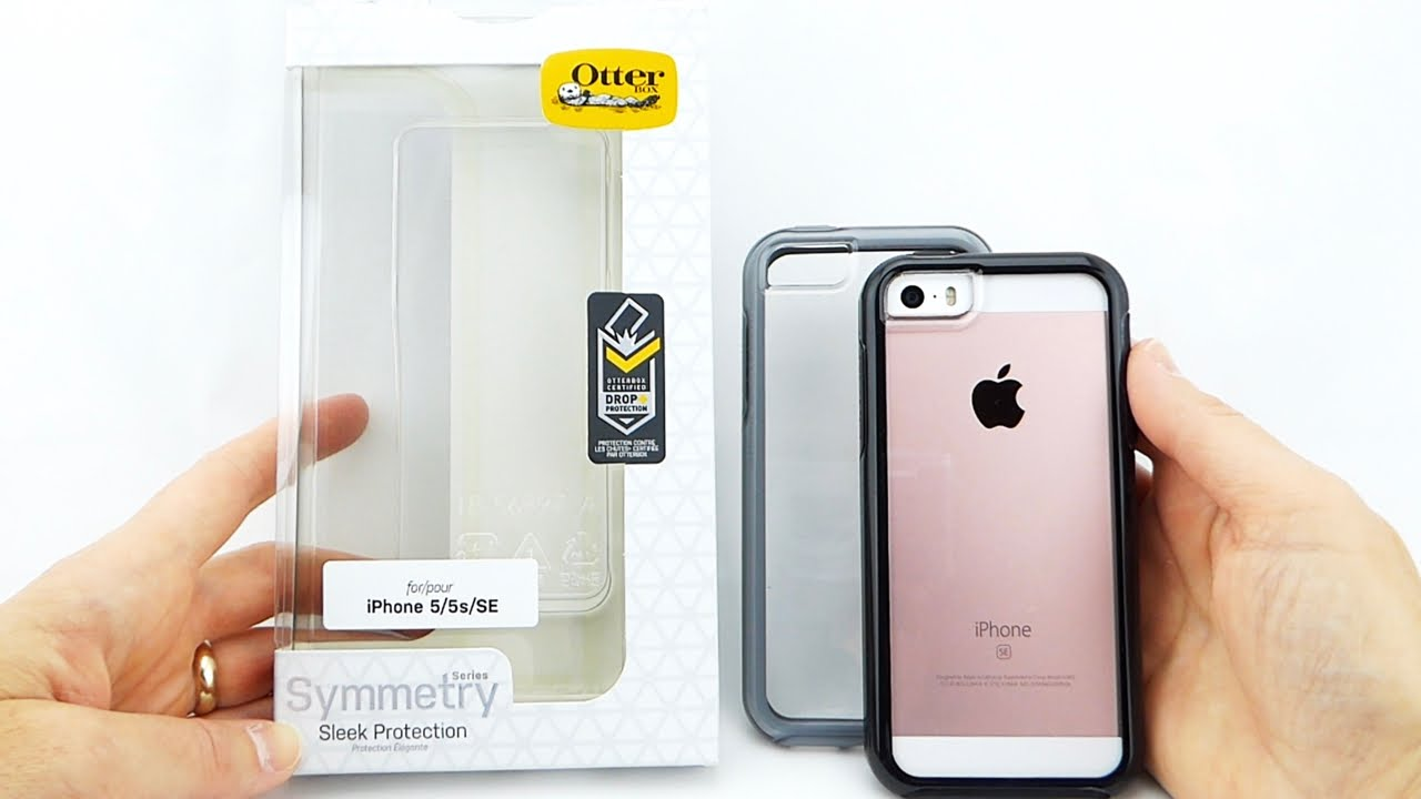 innovative design bef3d eaffc Show off your iPhone SE with the *New* Beautifully Protective OtterBox  Symmetry Clear!